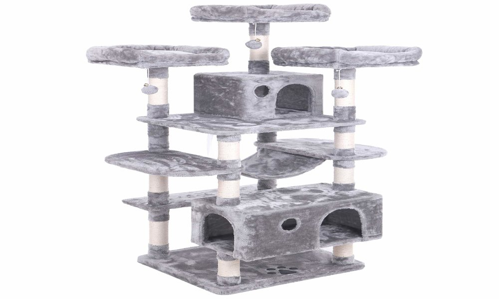 Best Cat Tree for Large Cats Reviews